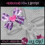 BE MY VALENTINES BOW SCRIPT 1 BY TOXIC