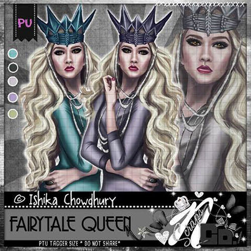 FAIRYTALE QUEEN COLLAB TUBE 2017