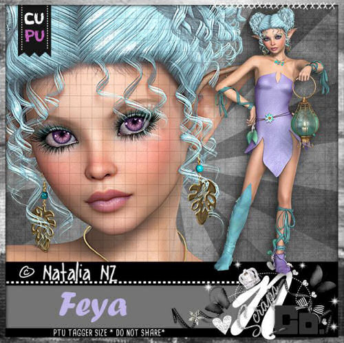 FEYA FAIRYTALE COLLAB TUBE 2017