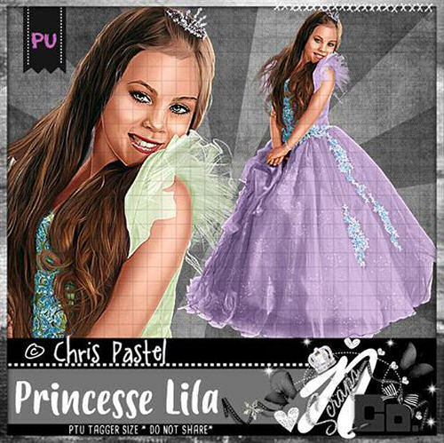 PRINCESSE LILA FAIRYTALE COLLAB
