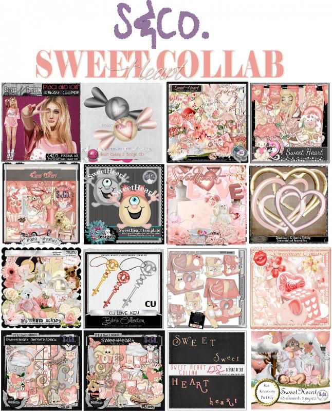 SWEET HEART COLLAB