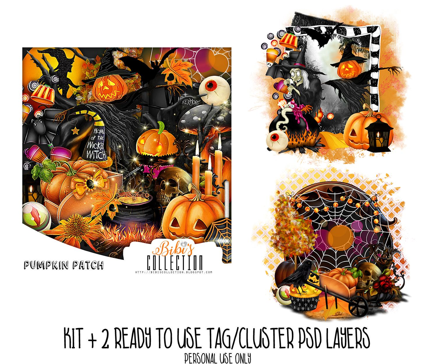 PUMPKIN PPATCH +READY CLUSTER TAGS PSD
