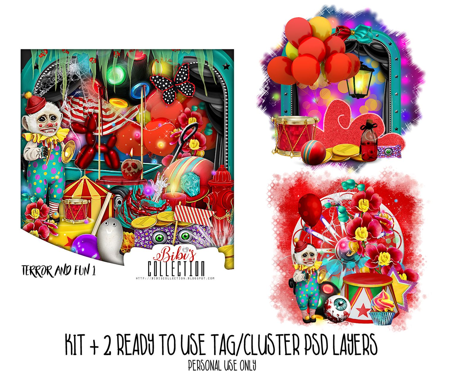 TERROR AND FUN 1 +READY CLUSTER TAGS PSD