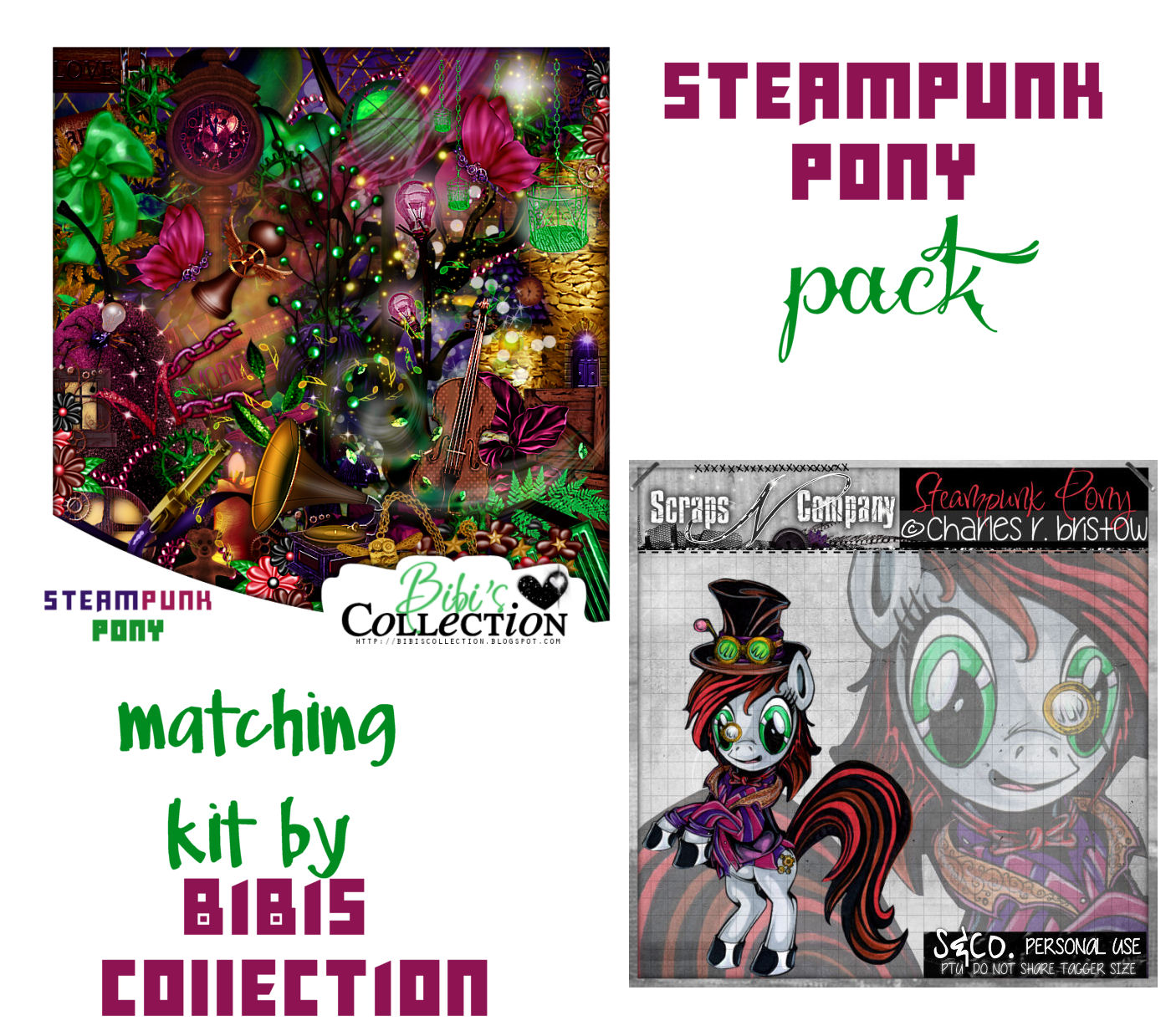 STEAMPUNK PONY PACK