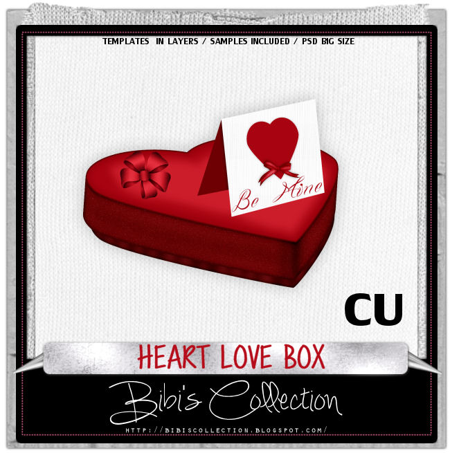 CU HEART LOVE BOX