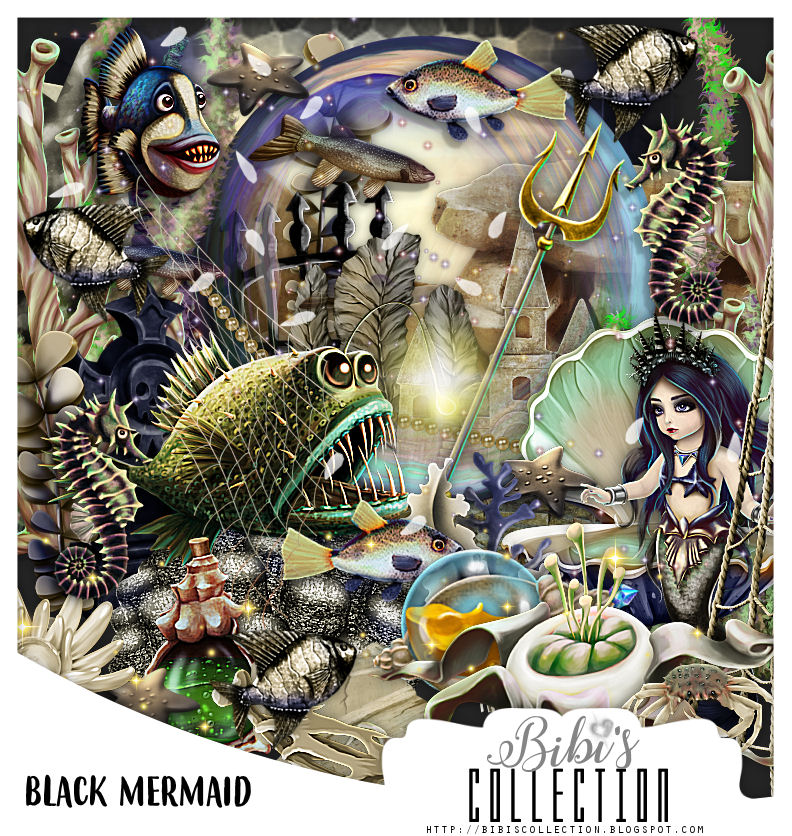 BLACK MERMAID MATCH FOR ALEHANDRA VANHEK