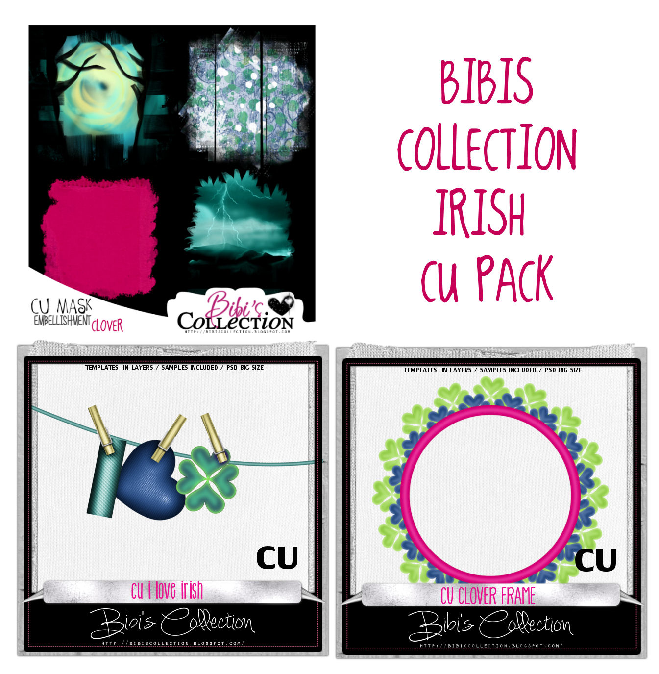 CU IRISH PACK BY BIBI