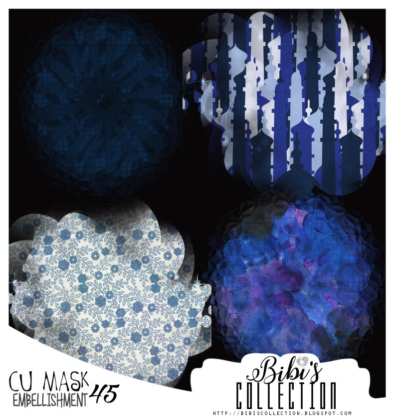 CU MASK EMBELLISHMENT PACK 45