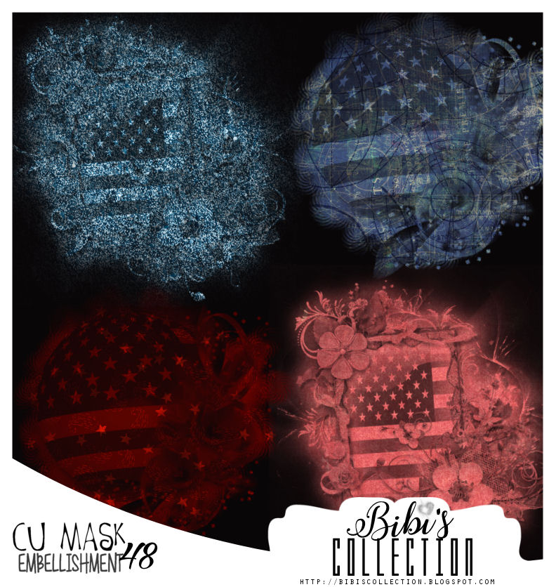 CU MASK EMBELLISHMENT PACK 48