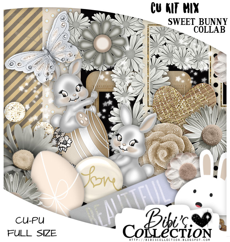 CU MIX PACK SWEET BUNNY COLLAB