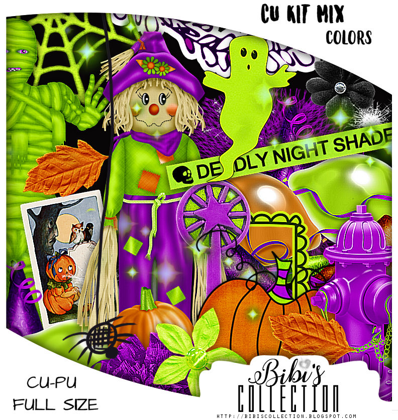 CU MIX PACK HALLOWEEN COLORS