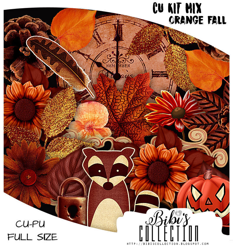 CU MIX PACK ORANGE FALL