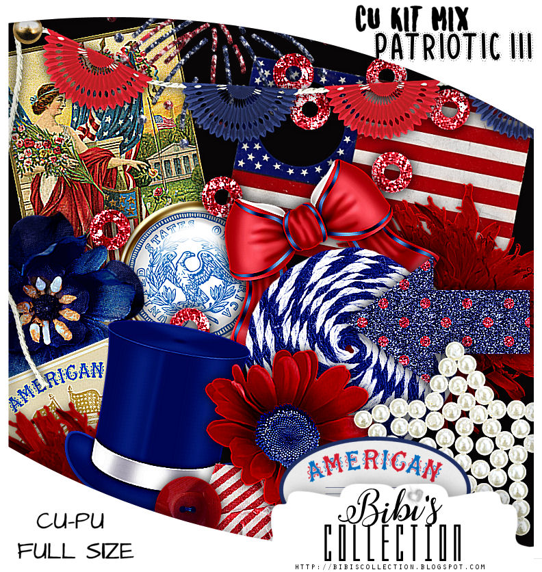 CU MIX PACK PATRIOTIC III