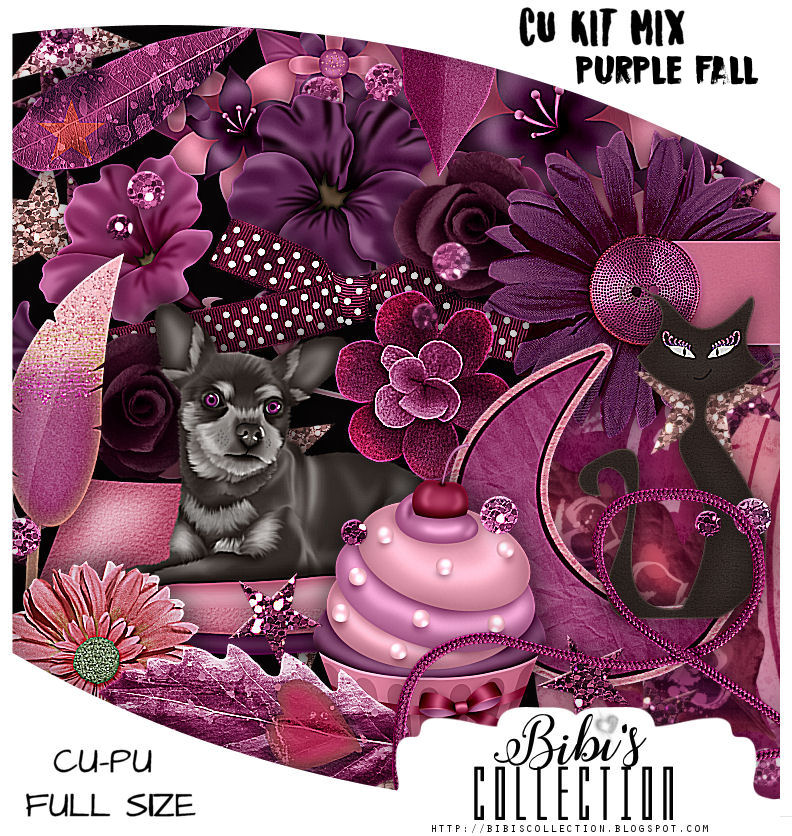 CU MIX PACK PURPLE FALL