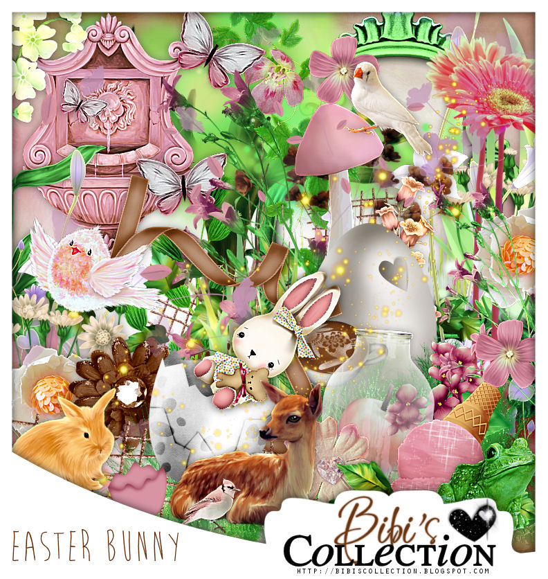 EASTER BUNNY COLLAB BY BIBI