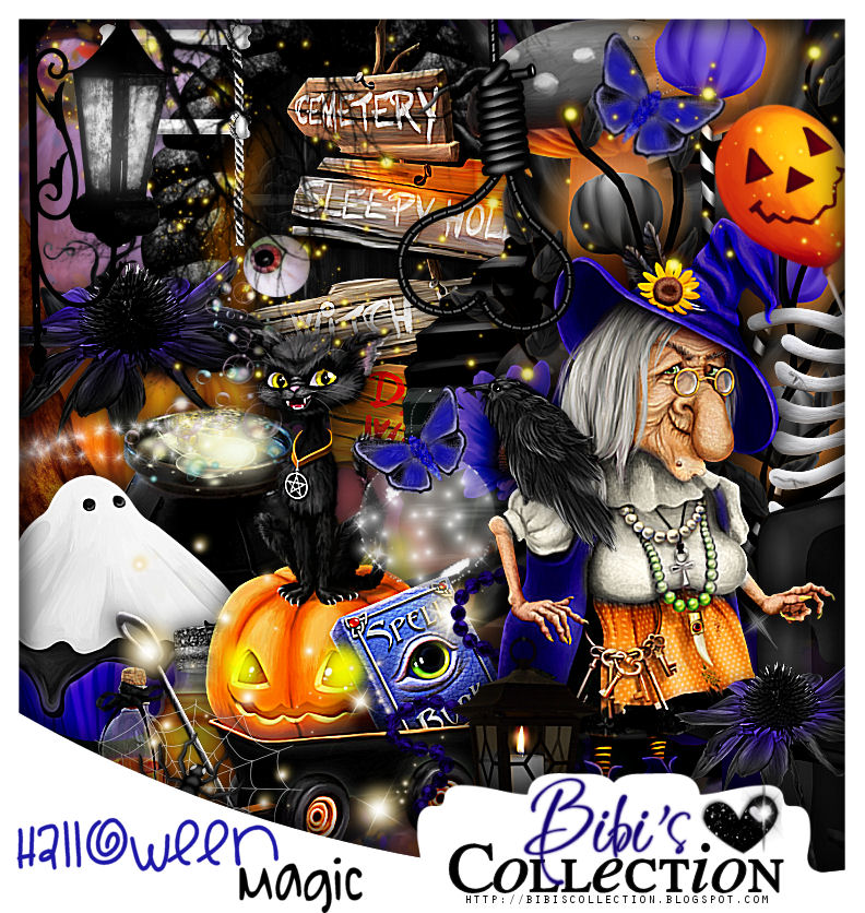 HALLOWEEN MAGIC Match for Donia Catrina 5 by Chris Pastel