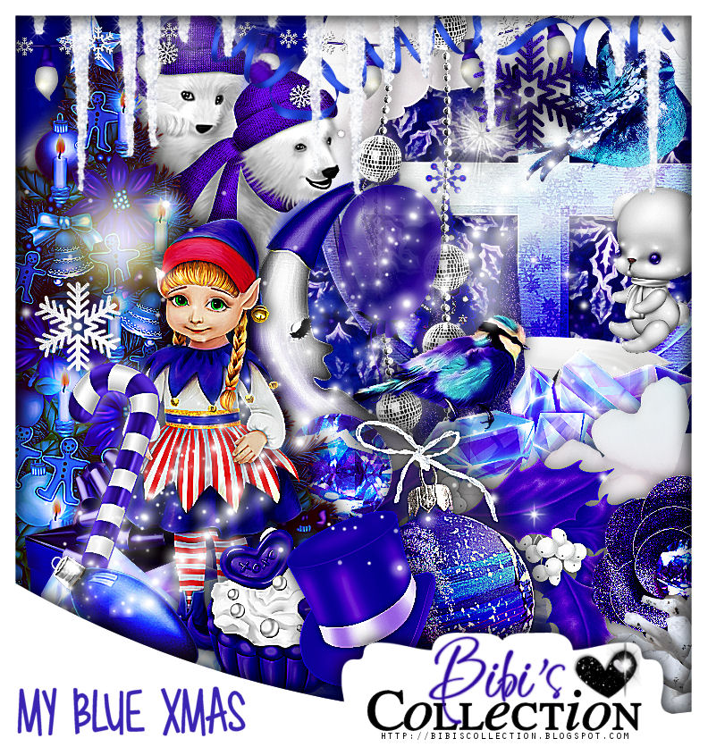 "MY BLUE XMAS MATCH FOR NINA ""MY XMAS"""