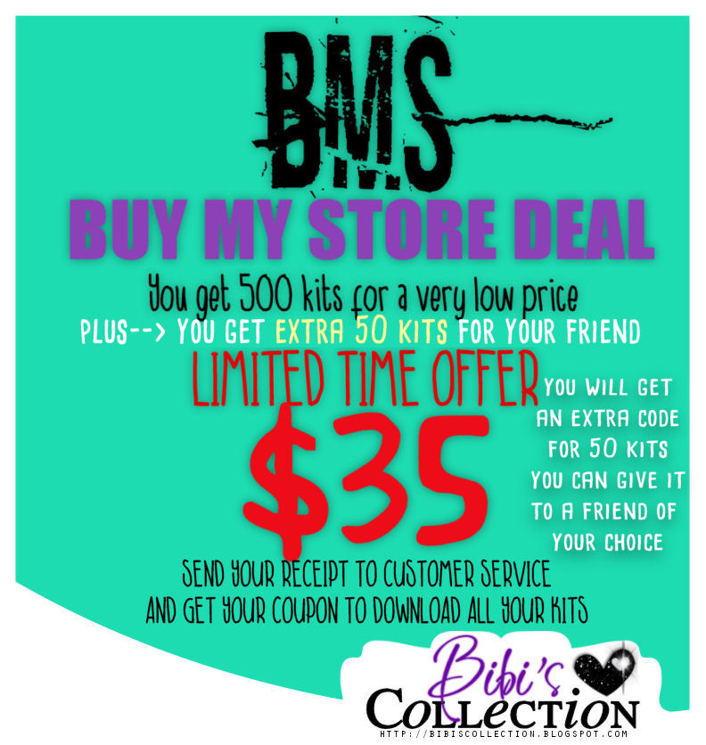 !!!!BMS DEAL LIMTED TIME ONLY--->$35 500+KITS -BIBIS COLLECTION