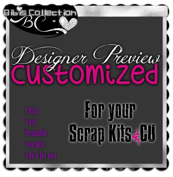Customized Designer Previews