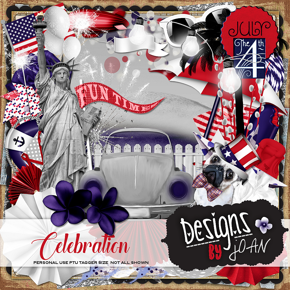 CELEBRATION JULY 4TH COLLAB KIT
