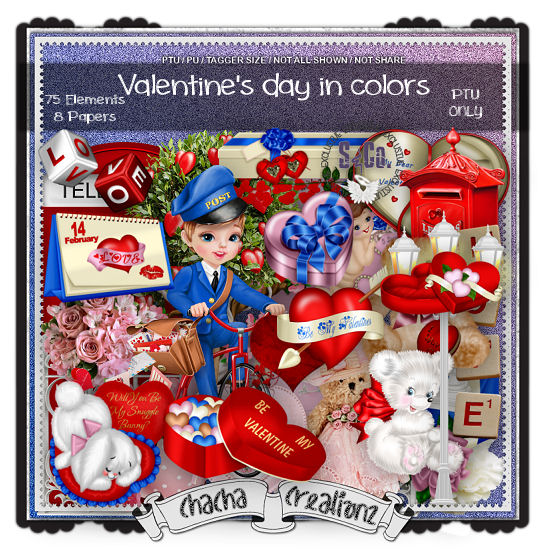 Valentine's Day's In Colors