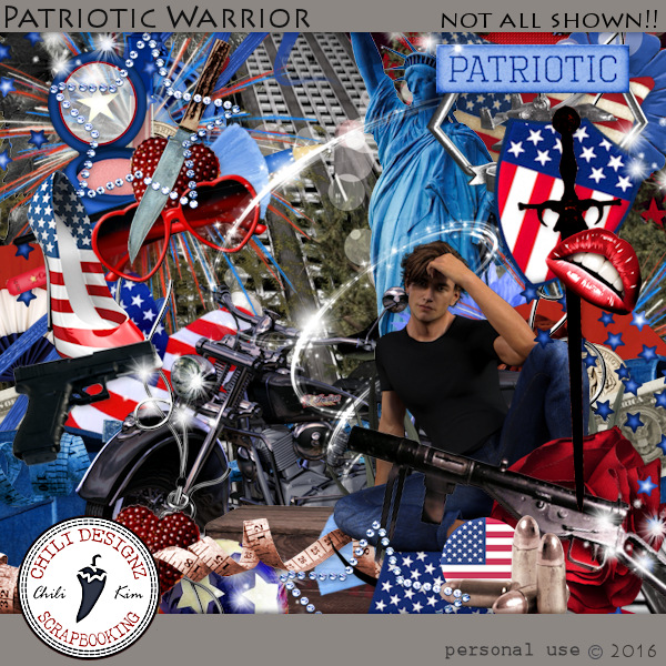 Patriotic Warrior