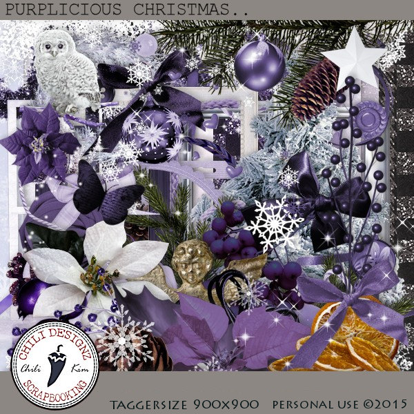 Purplicious Christmas