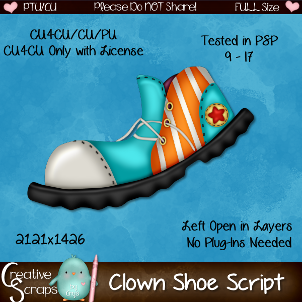 Clown Shoe Script