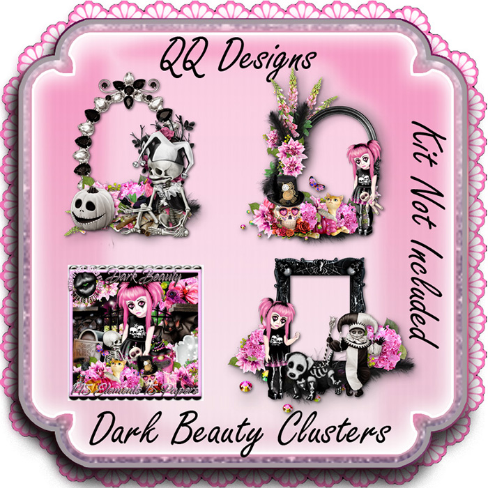 Dark Beauty Clusters