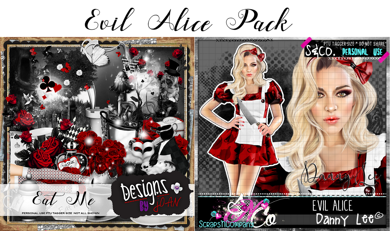 EVIL ALICE TUBE-KIT PACK