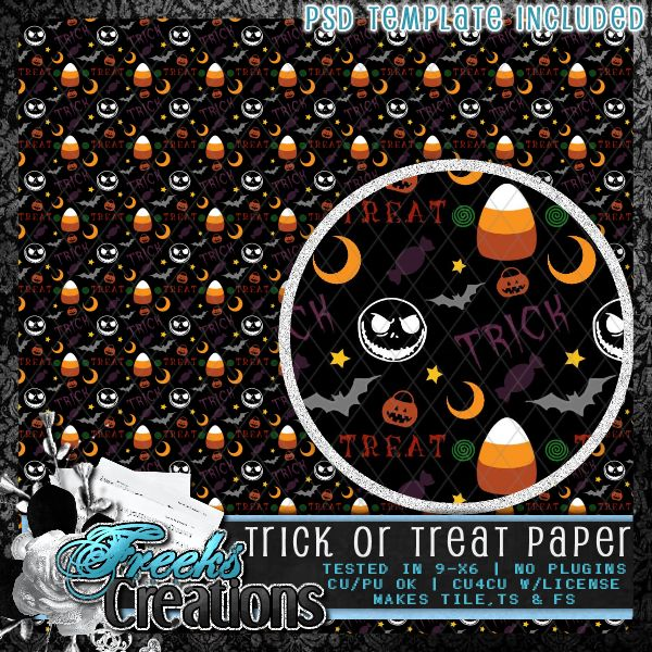Trick or Treat Paper