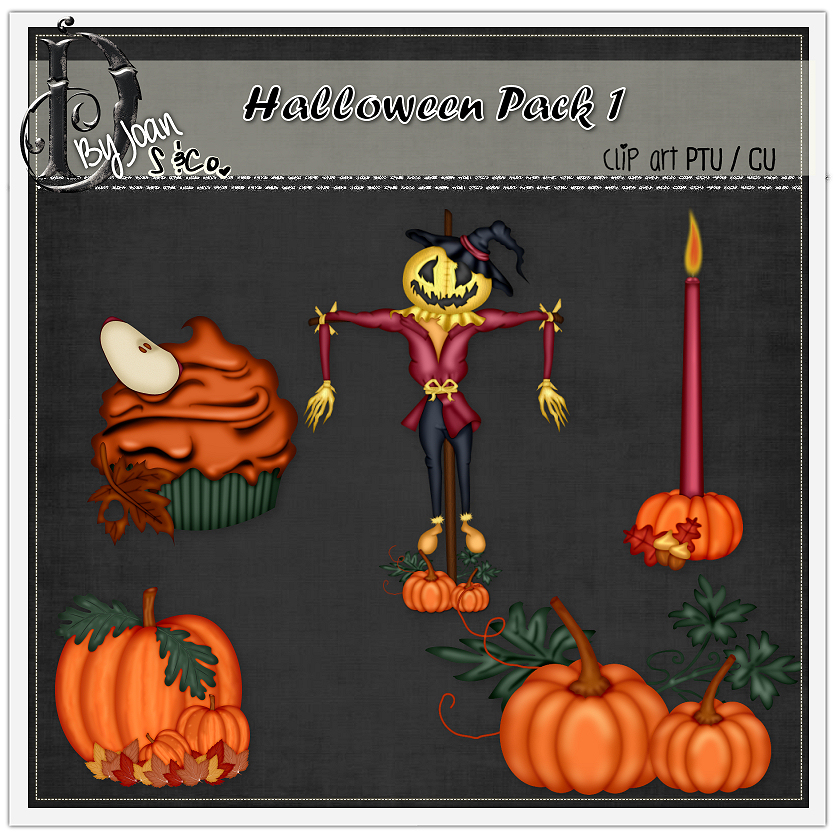 HALLOWEEN PACK 1 CLIPART