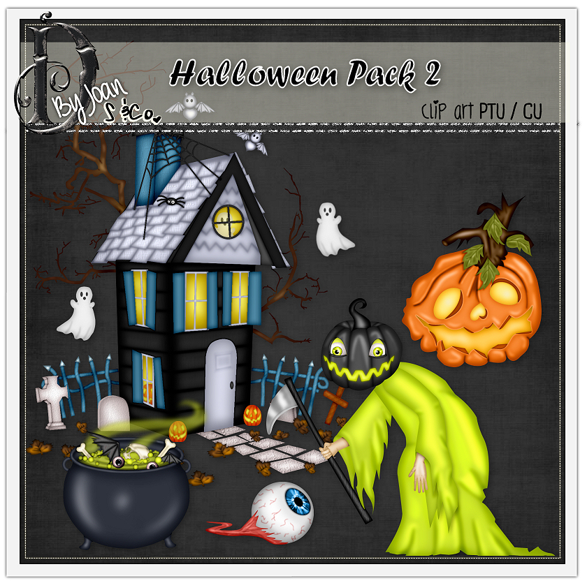 HALLOWEEN PACK 2 CLIPART