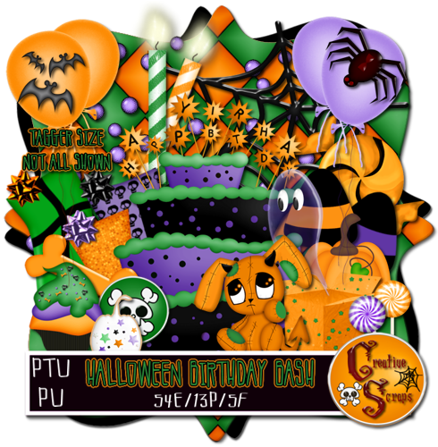 Halloween Birthday Bash TS