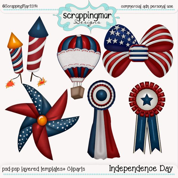 Independence Day 1 Templates-Cliparts