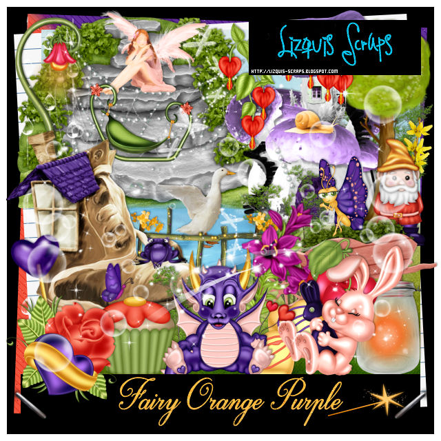 Fairy Orange Purple - Match for Andy Cooper