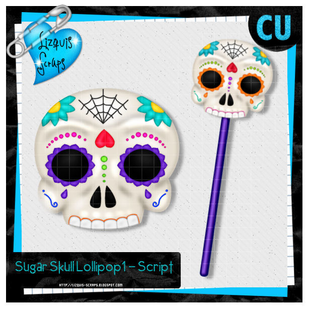 Sugar Skull Lollipop1 - Script