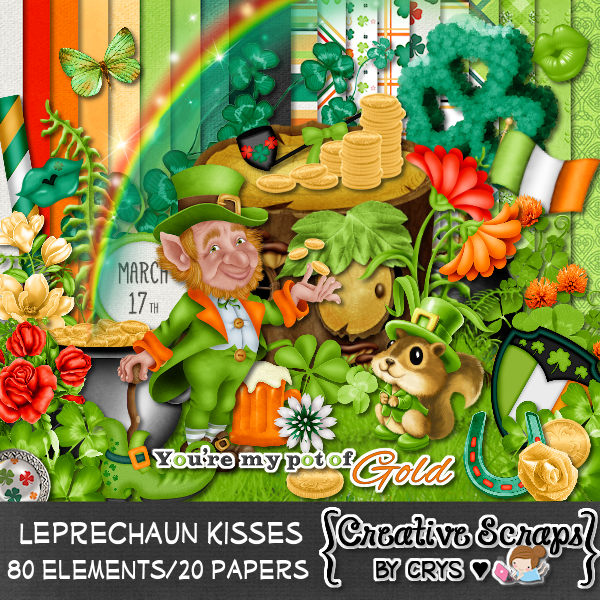 Leprechaun Kisses TS