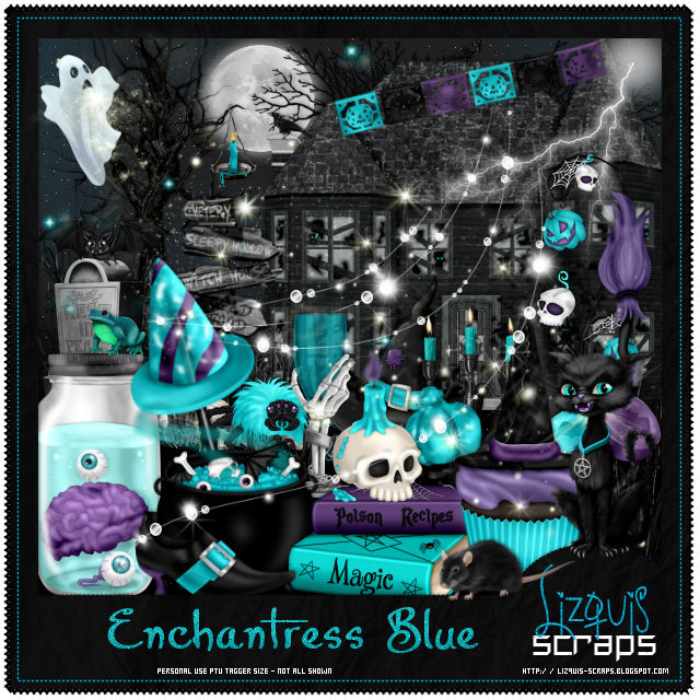 ENCHANTRESS BLUE - Match for Andy Cooper