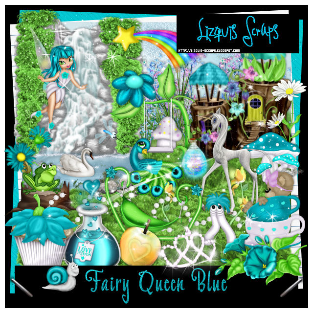 FAIRY QUEEN BLUE-Match for Lady Mishka