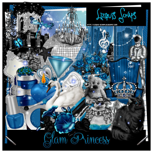 Glam Princess - Match for The Hunter