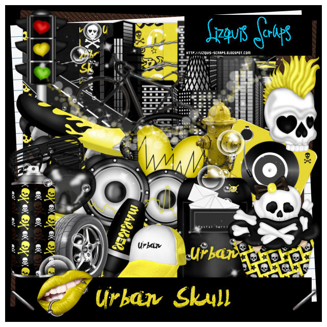 Urban Skull - Match for Andy Cooper