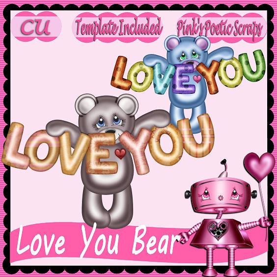 Love You Bear Script