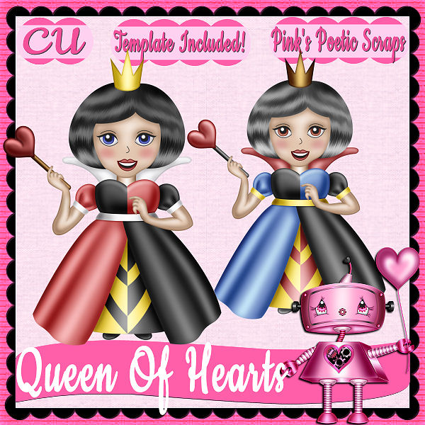 Queen Of Hearts Script