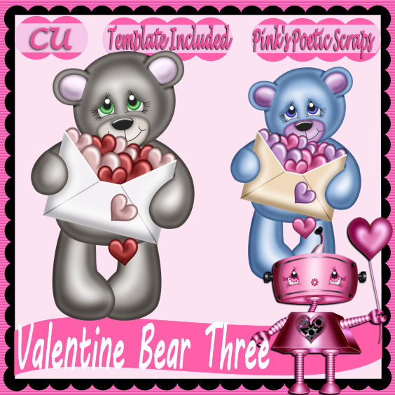 Valentine Bear Three Script