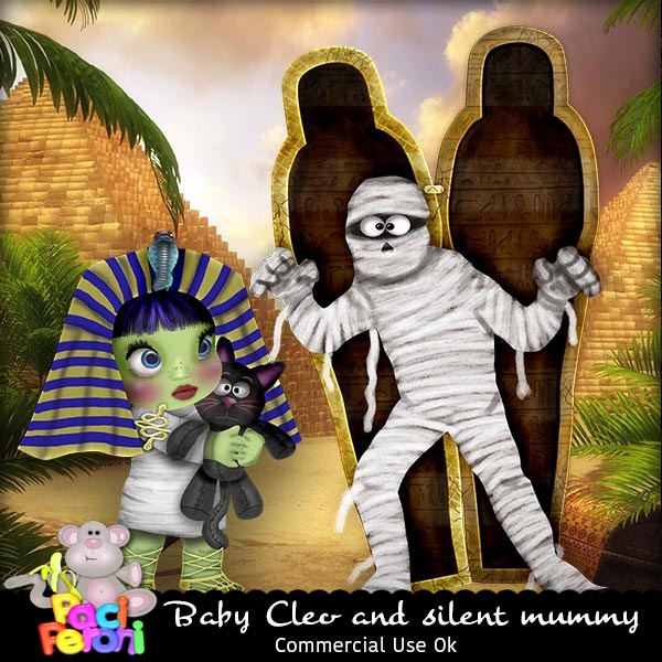 Cleo and the silent mummy