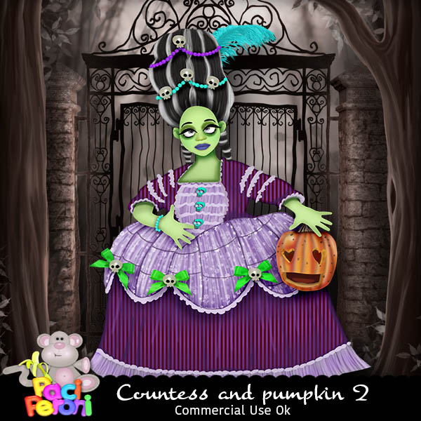 Countess and pumpkin 2