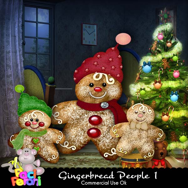 Gingerbread People 1
