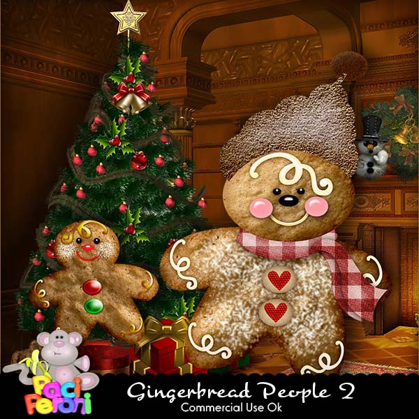 Gingerbread People 2