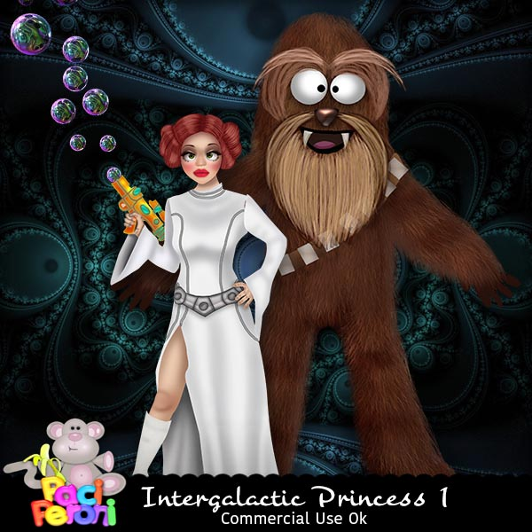 Intergalactic Princess 1